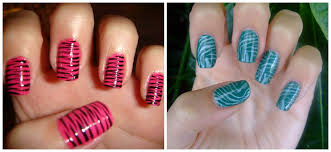 to do zebra nails at home
