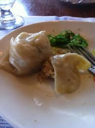cuisine le gal steamed shrimp wonton with seaweed salad picture of sea
