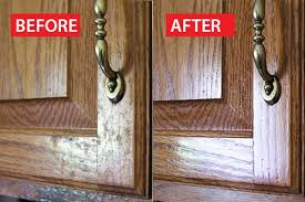 How To Clean Kitchen Cabinet Doors How To Clean Grease From Kitchen Cabinet Doors Hunker