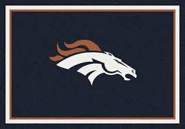 Nfl Area Rugs Denver Broncos Area Rug Nfl Broncos Area Rugs
