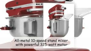 5 Quart Kitchenaid Mixer by Kitchenaid Ksm500pser Pro 500 Series 10 Speed 5 Quart Stand Mixer