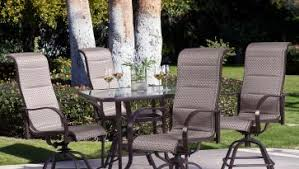 high table patio set high dining patio sets patio sets high dining swivel patio sets 7