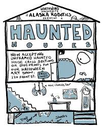 Halloween Haunted House Stories by Alaska Robotics Comics U0026 Illustration
