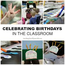 celebrate birthdays in the toddler and preschool classrooms