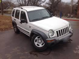 jeep cars white 2003 jeep liberty white atw auto repair and sales