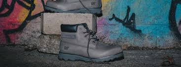 comfortable motorcycle boots ease casual comfort technology cat footwear