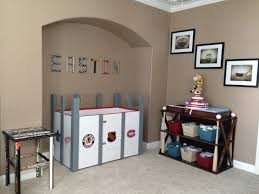Baby Cribs And Changing Tables by I Made The Crib Changing Table Hockey Stick Table And Name