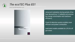 vaillant 831 ecotec plus 31kw combi boiler review and information
