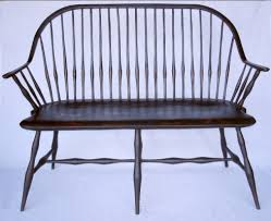 Antique Windsor Bench Www Eightquarter Com Windsor Continuous Bow Arm Settee