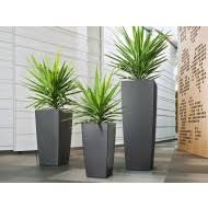 tall planters modern tower plant pots wholesale newpro