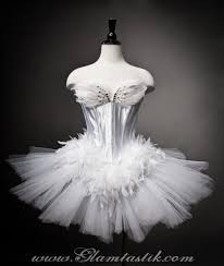 private listing for caroline custom size white swan ballet costume