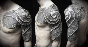 dotwork spiral tattoo by ivan hack
