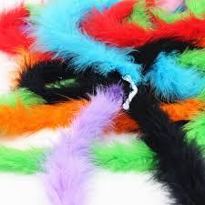 turkey feather boa aliexpress buy 2yard length turkey feather fluffy feather