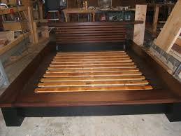 Low Waste Platform Bed Plans by Wooden Platform Bed Plans Bed Frame Plan Outdoor Furniture