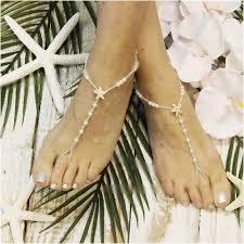 starfish barefoot sandals starfish gold barefoot sandals wedding pearl catherine