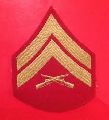 united states marine corps dress blue corporal rank slide