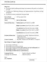 student resume samples 5 college resumes examples google search