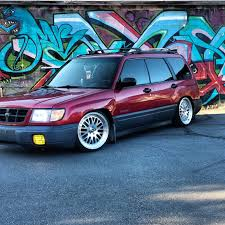 subaru forester stance slammed foresters retro rides