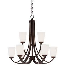minka lavery overland park 9 light vintage bronze chandelier 4969
