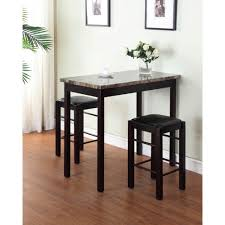 Home Decoraters Home Decorators Collection Tavern 3 Piece Espresso Bar Table Set