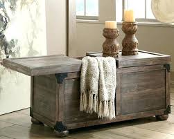 Trunk Style Coffee Table Trunk Style Coffee Tables Coffee Coffee Table Trunk Style With