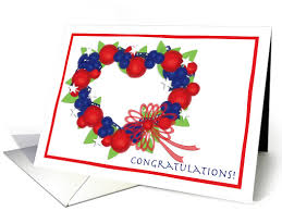 citizenship congratulations card us american citizen citizenship congratulations heart wreath card