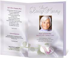 Downloadable Funeral Program Templates Downloadable Funeral Bulletin Covers An Example Of A Funeral