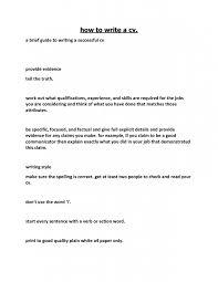 successful resume how to write a resume resume summary exle resume