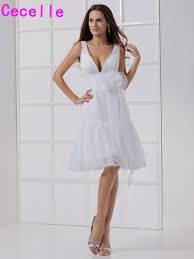 informal wedding reception compare prices on white short wedding reception dresses online