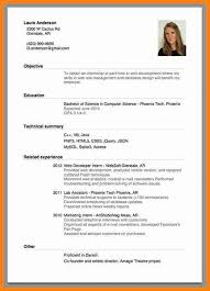 resume for internship example resume sample for marketing