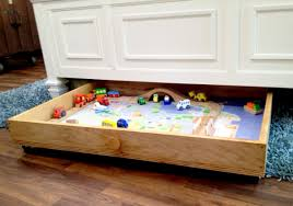 Plans To Build A Wooden Toy Train by Ana White Train Trundle Purebond Plywood Diy Projects