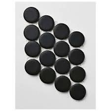 matte black merola tile hudson penny round matte black porcelain mosaic tile 3