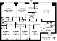 layout of medical office floor plan for office building small medical office floor plan