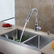 stainless steel kitchen sink combination kraususa com discontinued 36 inch farmhouse double bowl stainless steel kitchen sink with chrome kitchen faucet and
