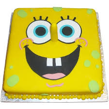 spongebob squarepants cake spongebob squarepants cake 84 95 buy online free uk delivery