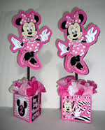 Centerpieces For Minnie Mouse Party by Minnie Mouse Baby Shower Decorations Minnie Zebra Dress