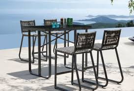 outside bar plans patio u0026 pergola patio outdoor bar height table and chairs