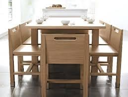 table cuisine originale modele de table de cuisine en bois table ronde patinee