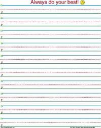 printable lined paper grade 2 writing paper with editing checklist freebie writing paper