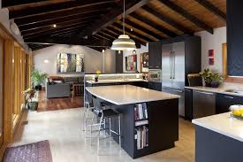 Selecting Kitchen Cabinets by Choosing Kitchen Cabinets Rustic With Tongue And Groove Ceiling