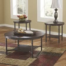 round distressed end table end tables coffee tables wood metal table top glass round