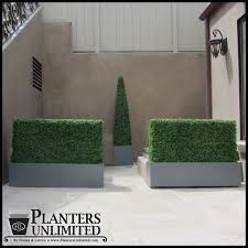 Topiary Planters - 96in h x 12in base artificial topiary obelisk