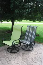 Fabric For Patio Chairs How To Spray Paint Almost Anything And Transform Your Furniture In