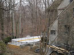 backyard rink gets icy reception in nw the washington post