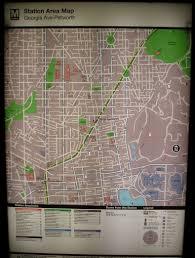 Dc Traffic Map Maps Park View D C