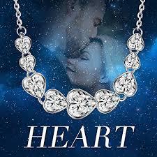 amazon black friday jewelry swarovski amazon com ladycolour heart to heart pendant necklace swarovski