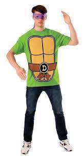 Leonardo Ninja Turtle Halloween Costume Rubies Tmnt Michelangelo Teenage Mutant Ninja Turtle Men