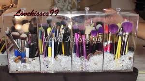 my custom brush holder from mk acrylic designs youtube