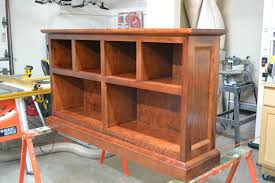 hand made cherry bookcase by o u0027donnell woodcraft custommade com