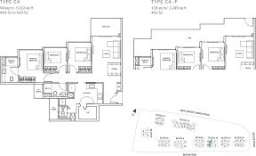 sqm to sqft the glades condo floor plan 3br suite c4 94 sqm 1012 sqft